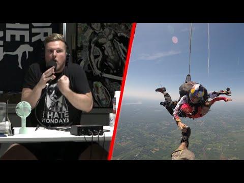 Pat McAfee's Skydiving Nightmare