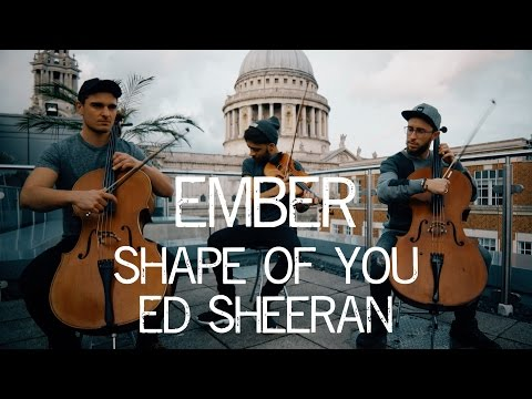 Ember - Shape of You Ed Sheeran Cover Violin and Cello