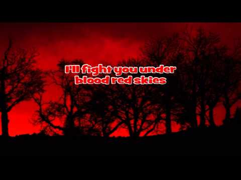 JUDAS PRIEST - Blood Red Skies / Instrumental with Lyrics ( Karaoke )