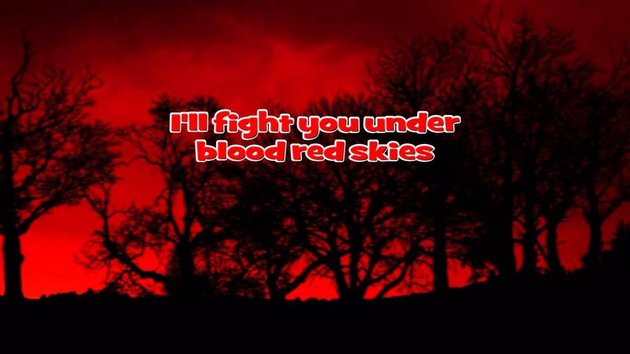 judas priest blood red skies