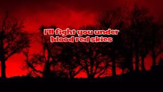 Judas Priest - Blood Red Skies / Instrumental with Lyrics ( Karaoke )