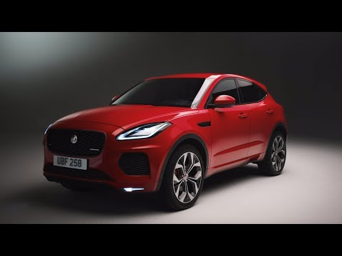 Jaguar E-PACE Chequered Flag | Unwrapped with Ginny Buckley