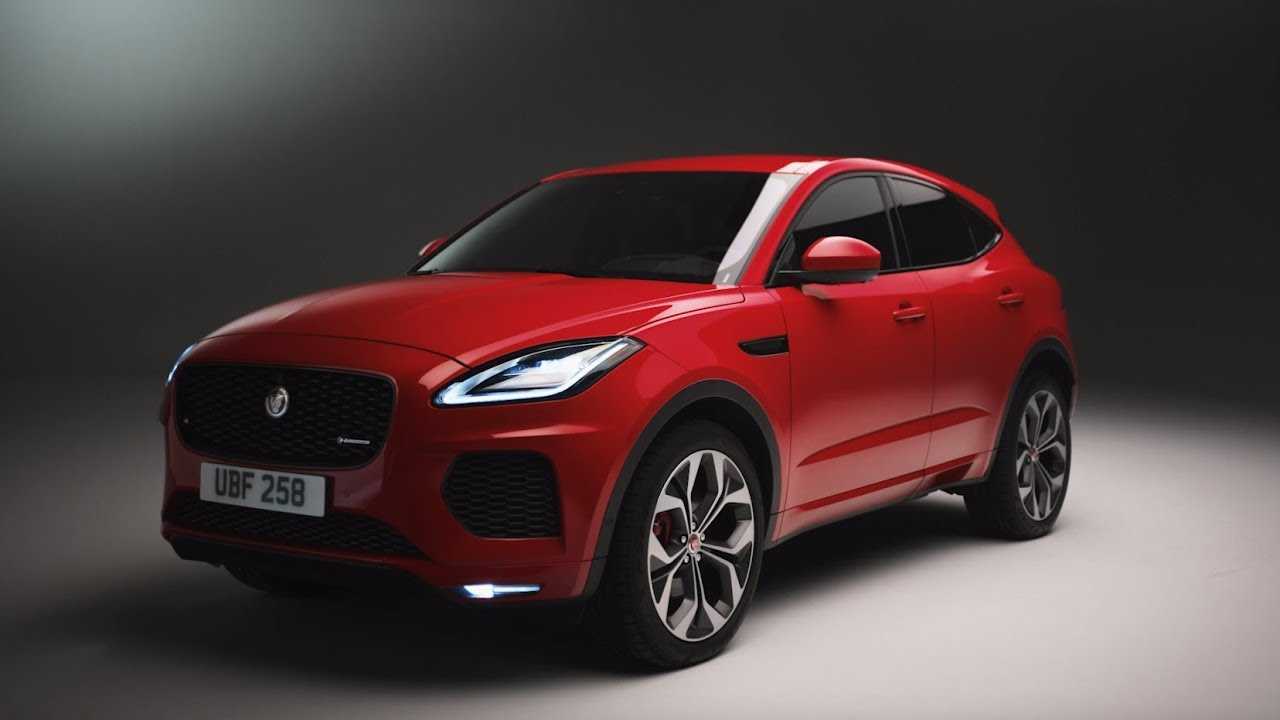 Jaguar E-PACE | Unwrapped with Ginny Buckley - YouTube