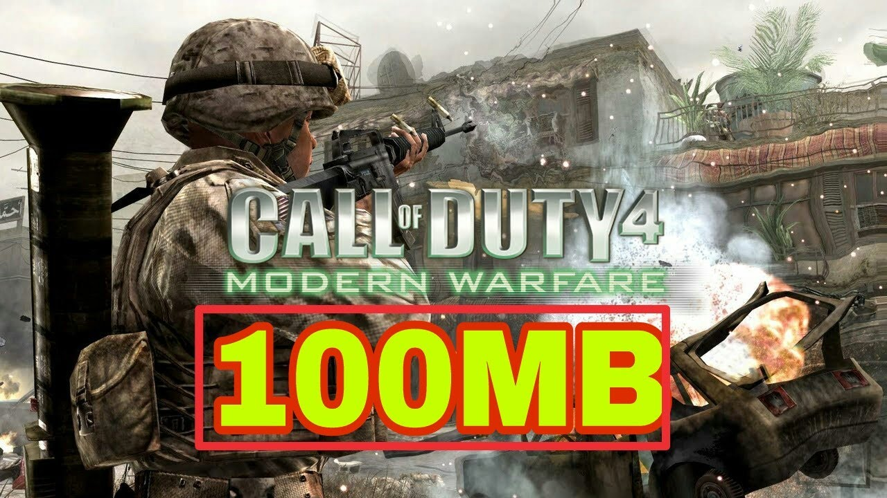 call of duty 4 compressed