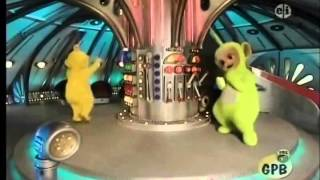 Teletubbies Dancing Around the Controls(a bit off-sync)