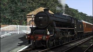 Bossman Games Black Five on the Penwyth Valley Railway