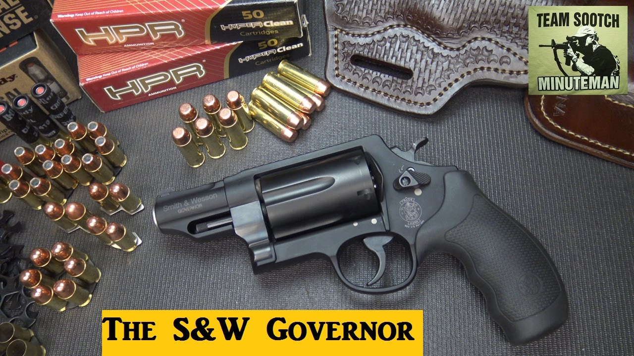 S&W Governor 410/ 45 Colt/ 45 ACP Revolver Review