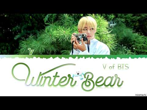 Winter Bear by V | Lyrics (Eng/Kor) 🐻❄️