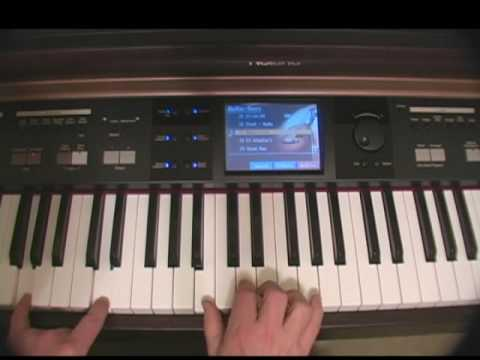 Piano Tutorial Part 1 - Wanted Dead or Alive Bon Jovi