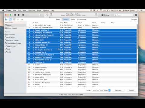 Transfer Music Using Home Sharing (PC and/or Mac)