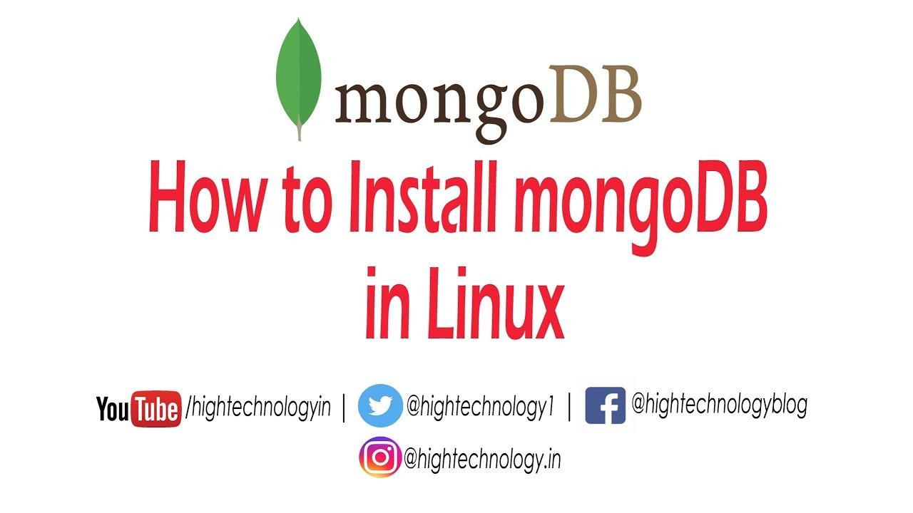 Install mongodb on aws ec2 ubuntu | Peatix