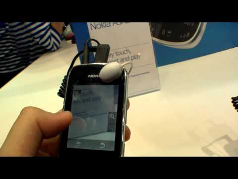 Nokia Asha 203 Smartphone - Hands On (Deutsch)