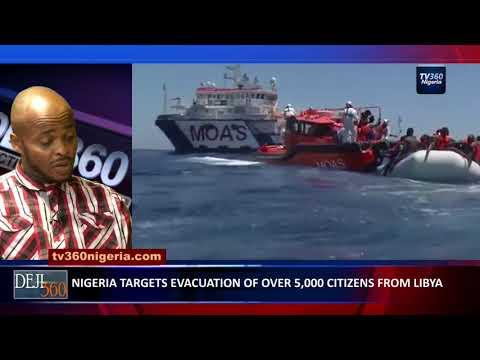 DEJI360 EP 195 Part 1: Nigerian migrant recounts experience in Libya