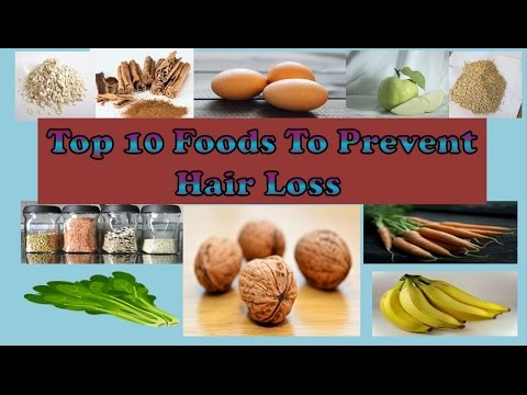 what food can prevent hair loss