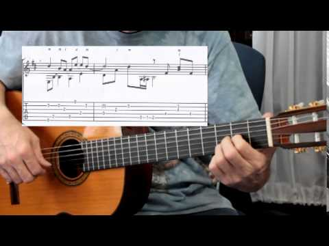 Fingerstyle Guitar Lesson of \