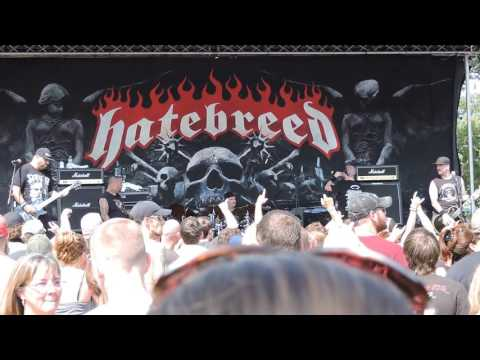 Rise Above Fest 8/6/2016, Darlings Waterfront Pavilion. HATEBREED
