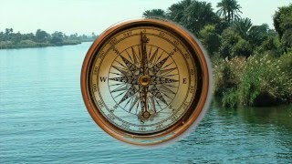 Flat Earth-Miracle of the ball!  Nile river flows UPHILL.