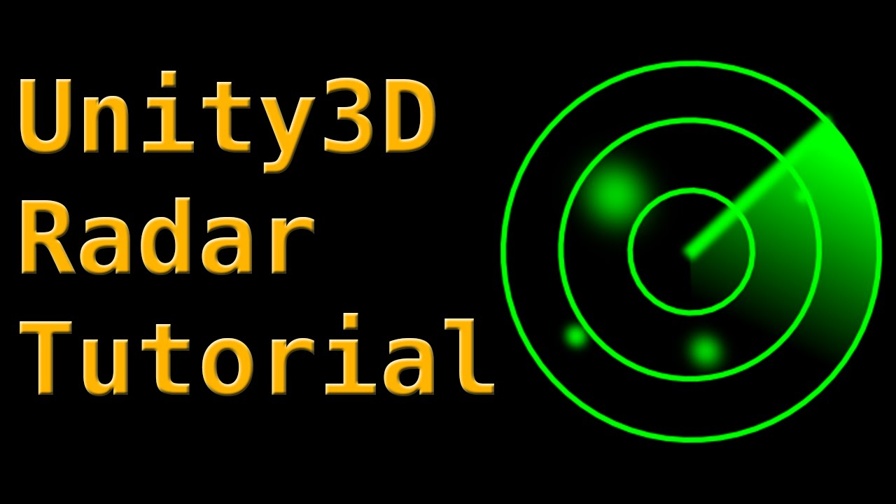 Unity3d Radar Tutorial Youtube