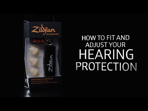 Zildjian HD Ear Plugs - How To Fit and Adjust Your Hearing Protection