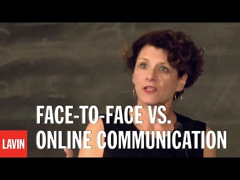 Susan Pinker: Face-to-Face vs. Online Communication