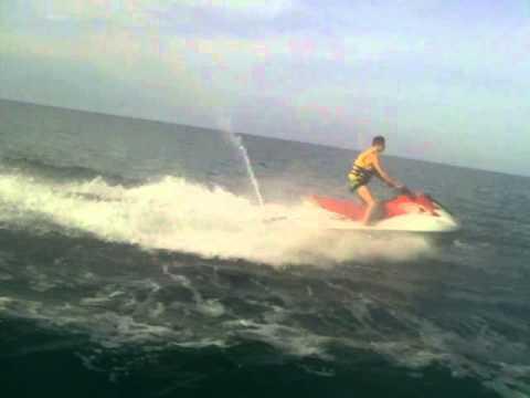 Jet Ski en Tunisie !ALEXIS