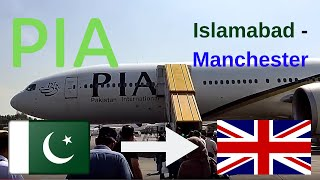 ✈️flight report✈️ Pakistan international airlines (PIA) PK701 Islamabad to Manchester B773