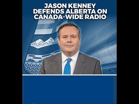 Jason Kenney Defends Alberta on Canada-Wide Radio
