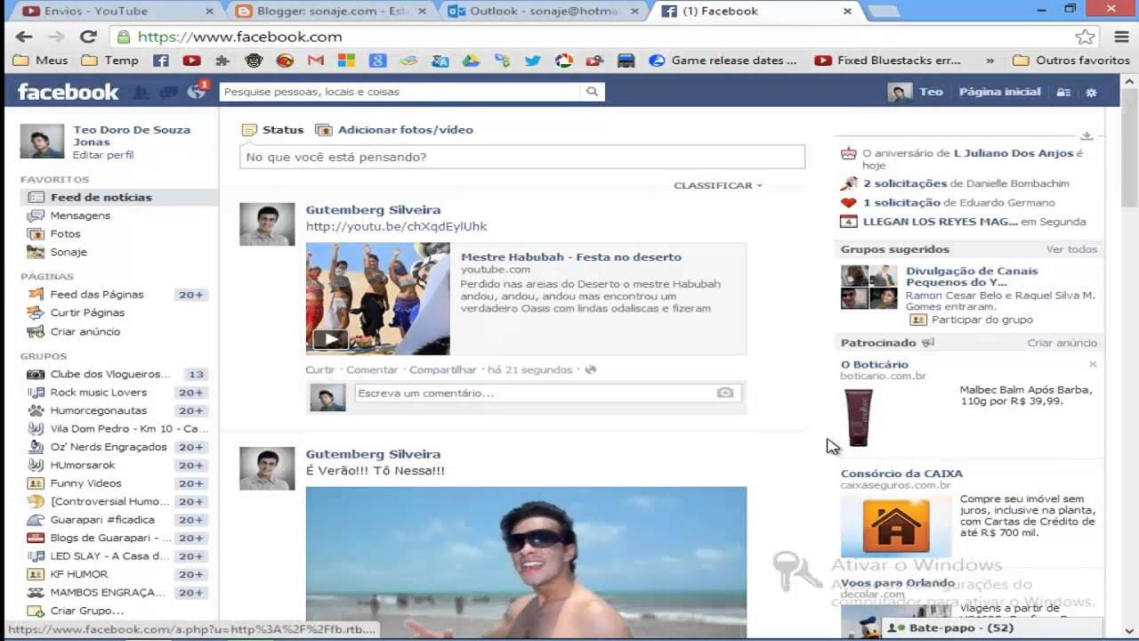 Facebook, como enviar um arquivo MP3 para um amigo