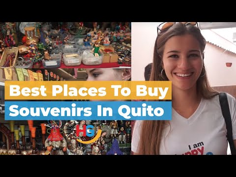 Best places to buy souvenirs in Quito