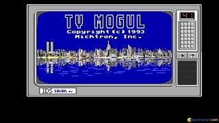 TV Mogul gameplay (PC Game, 1993)