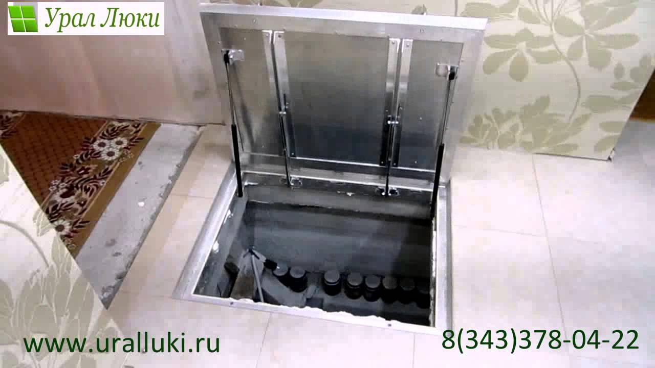 Выдвижной люк в пол напольный люк люк под плитку люк в подвал .