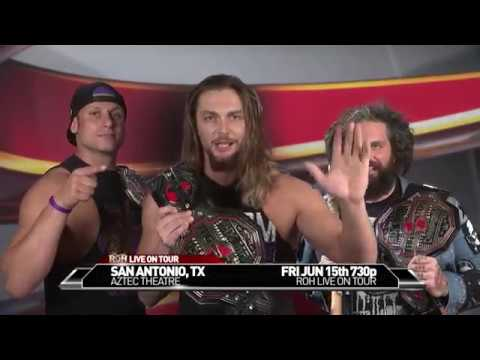 TK O'Ryan On ROH Changing The Color Of Ring Mats, Cody Being