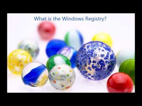 What is the windows registry and what is it used for? (AnswerMan Windows)