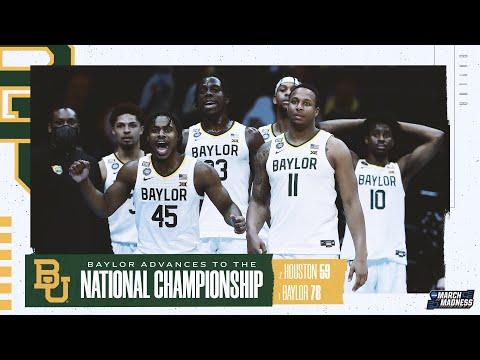 Baylor vs. Houston - Final Four NCAA tournament extended highlights