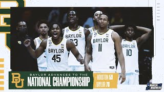 Baylor vs. Houston - Final Four NCAA tournament extended highlights