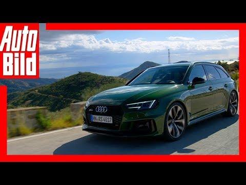 Audi RS4 Avant (2017) / Fahrbericht / Details / Review