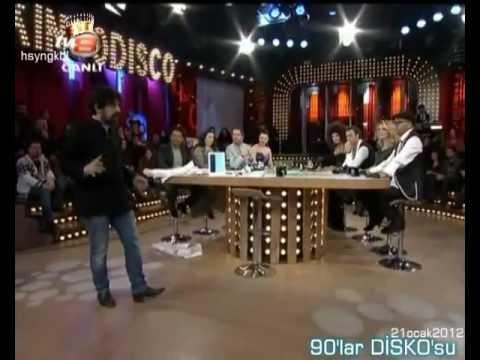 90'lar Disko'su yerli şarkıları ve klipleri - Disko Kralı 21 ocak 2012