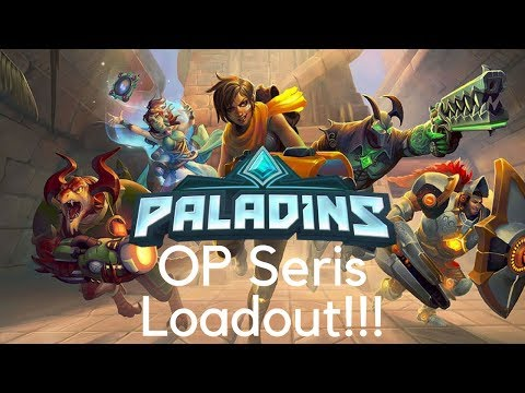 I AM INVINCIBLE!!!!   Paladins OP Seris Build