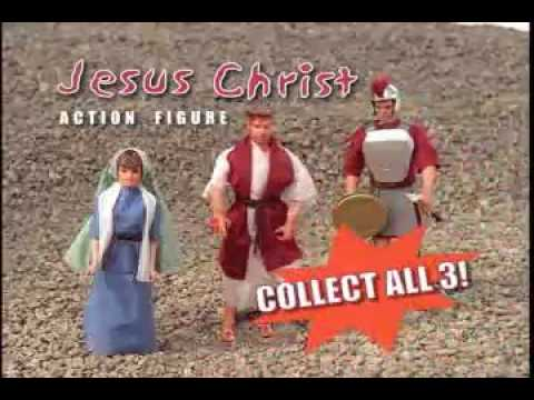Jesus Christ Action Figure.MP4