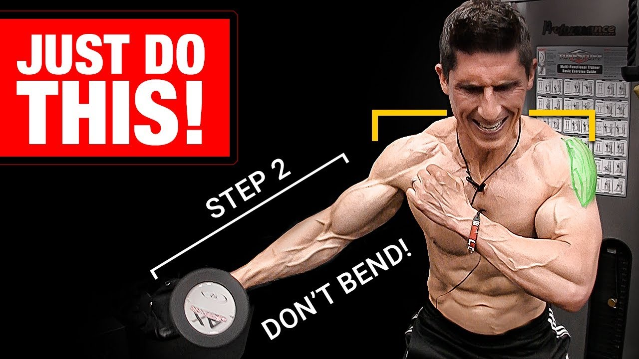 Download Can't Get Bigger, Wider Delts? Just Do THIS!!