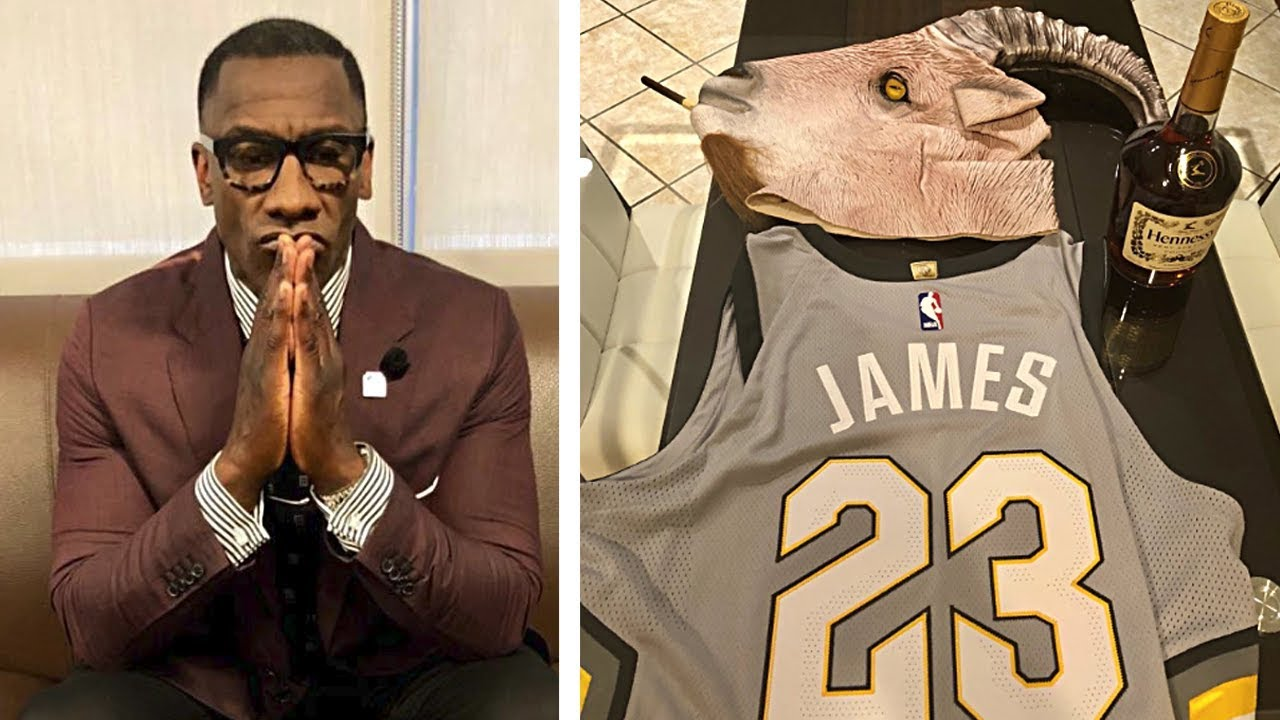 finest selection ea951 1440f Shannon Sharpe Reacts To LeBron & Cavs Destroying Celtics In Game 3