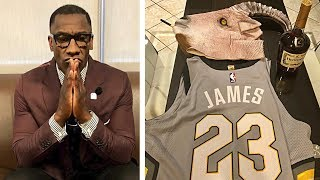 Shannon Sharpe Reacts To LeBron & Cavs Destroying Celtics In Game 3