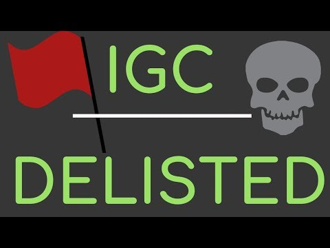IGC WAS A SCAM!