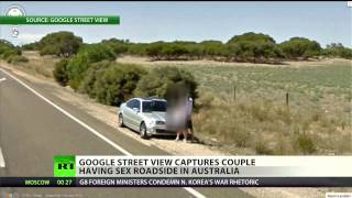 Google Street View captures couple having sex