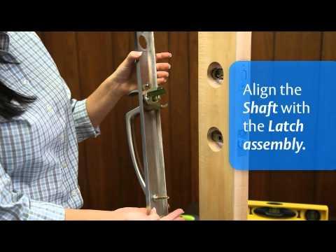 lockwood 005 deadbolt installation instructions