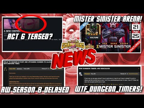 Act 6 Teased? Mystery Revealed? AW Seasons Delayed & Much More [MCN] - ???