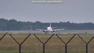 lot charters boeing 737 sp llk takeoff katowice pyrzowice epkt heraklion lgir 17 07 2011