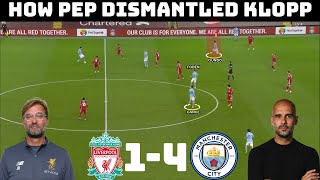 Tactical Analysis: Liverpool 1-4 Manchester City |How Pep Finally Conquered Anfield|