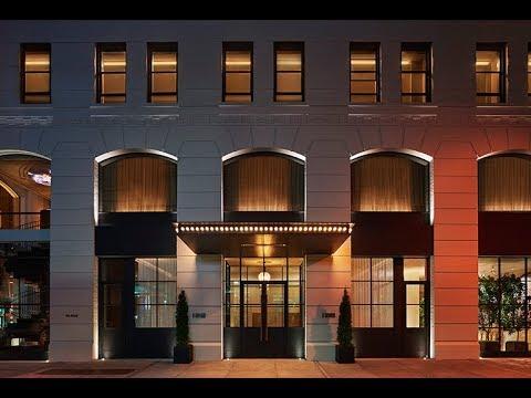 11 howard new york a member of design hotels new york for Youtube design hotels