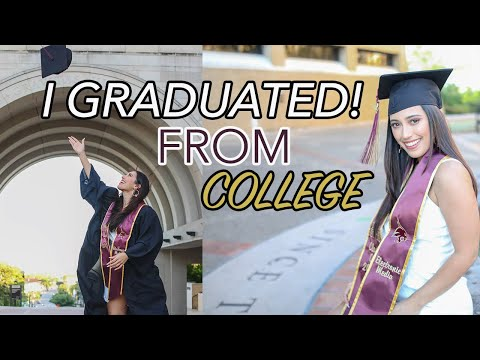 I GRADUATED FROM COLLEGE (TEXAS STATE UNIVERSITY)